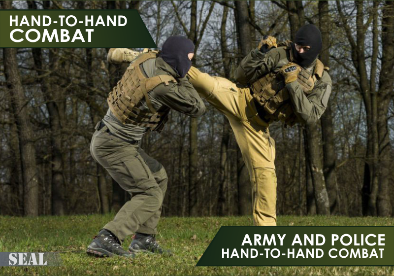Hand-to-hand combat (army and police hand-to-hand combat) image